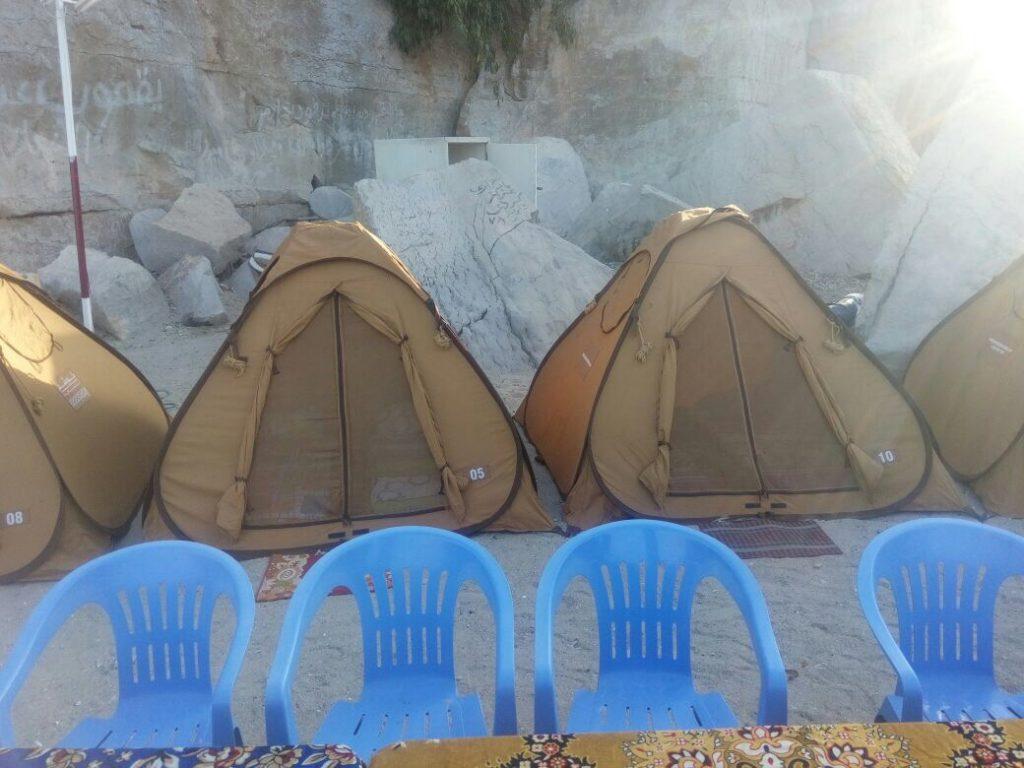 Campeggio in spiaggia di notte Khasab Musandam Crociere-7
