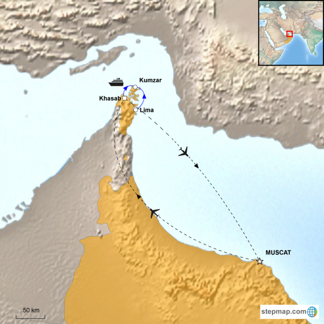 stepmap-karte-musandam-dhow-cruise-16711381